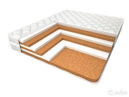 Недорогой матрас из материалов смешанного типа - натуральных и искусственных
